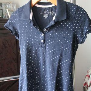 H&M Polka Dot Polo Size XS